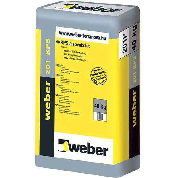 Weber WeberKPS 201 médium alapvakolat
