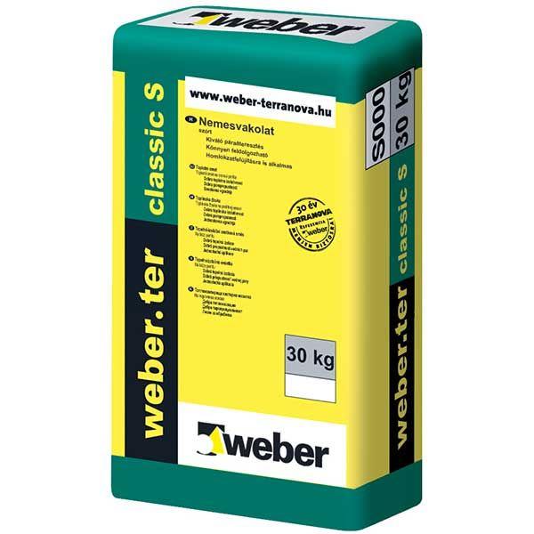 Weber Weberter Classic S ásványi nemesvakolat, szórt, 2. színcsoport